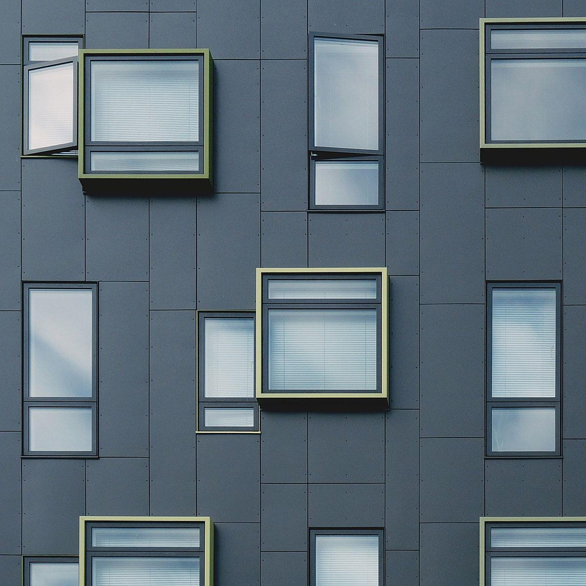 Кассетные фасады