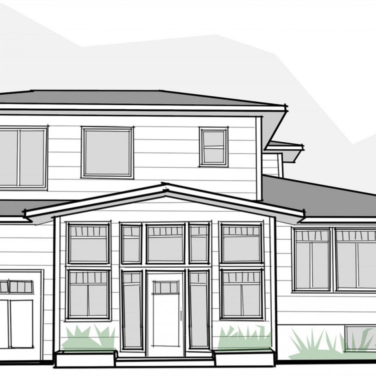 Архитектурные элементы фасадов первого этажа