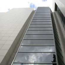 Керамогранитный фасад на клей