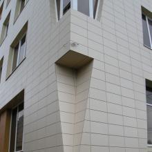 Отделка фасадов плиткой