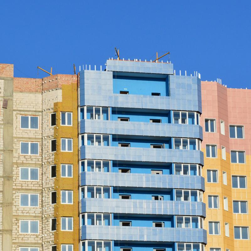 вентилируемый фасад с утеплителем